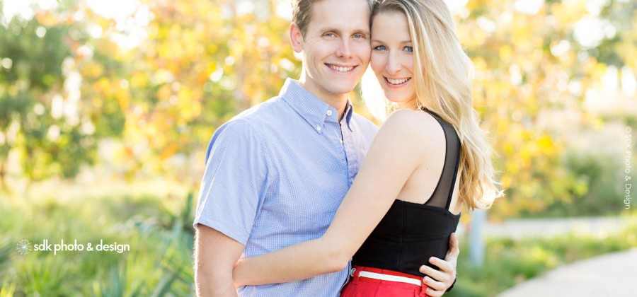 Brit + Brandon {Sun-kissed Santa Monica Engagement Photos}
